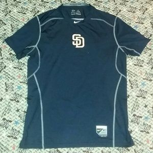 Nike San Diego Padres Authentic Jersey T Shirt